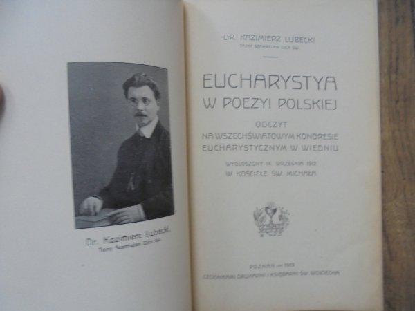 dr. Kazimierz Lubecki • Eucharystya w poezyi polskiej