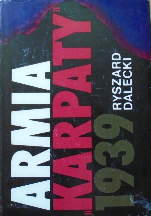 Ryszard Dalecki • Armia 'Karpaty' 1939