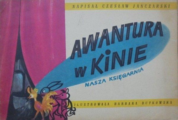 Czesław Janczarski • Awantura w kinie [Barbara Dutkowska] [Poczytaj mi mamo]