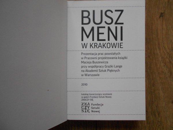 Buszmeni w Krakowie • Katalog wystawy
