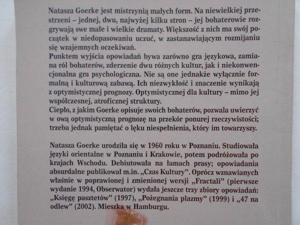 Natasza Goerke • Fractale