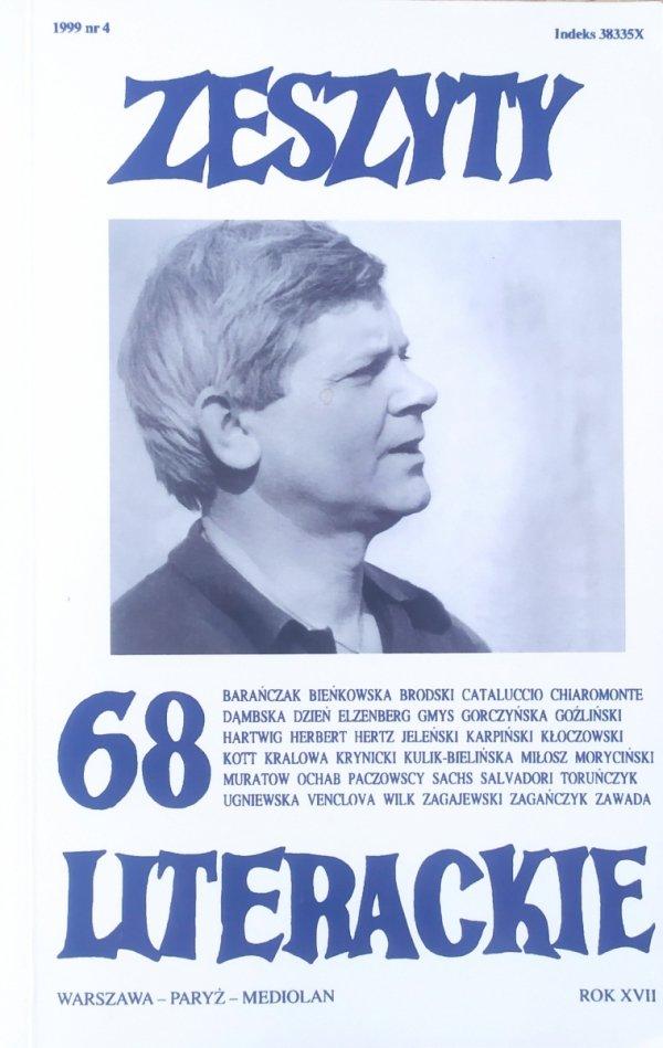Zeszyty Literackie numer 68/1999 Zbigniew Herbert