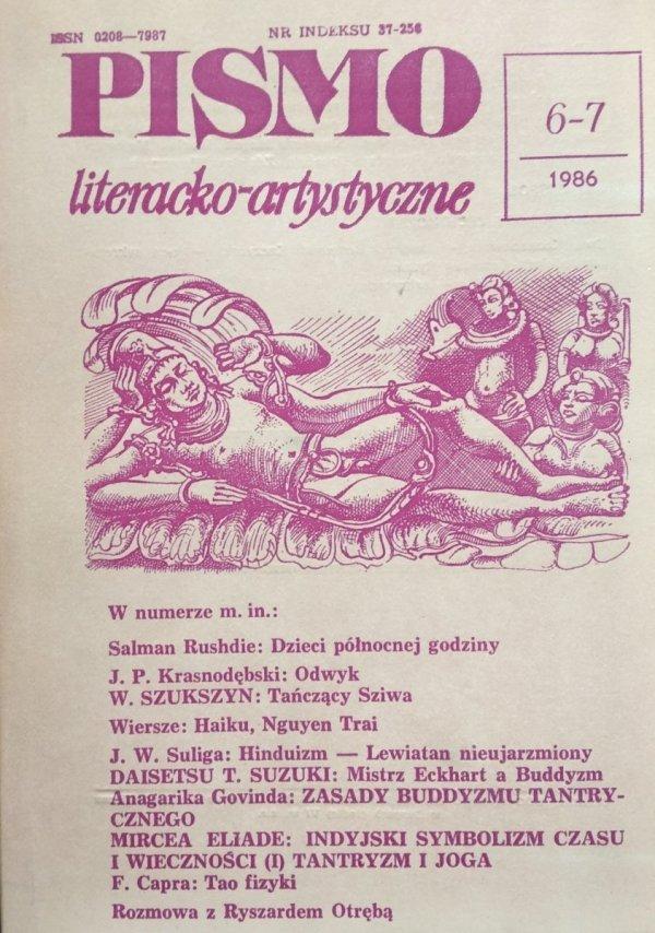 Pismo literacko-artystyczne 6-7/1986 • Haiku, Suzuki, Hinduizm, Buddyzm, Eliade