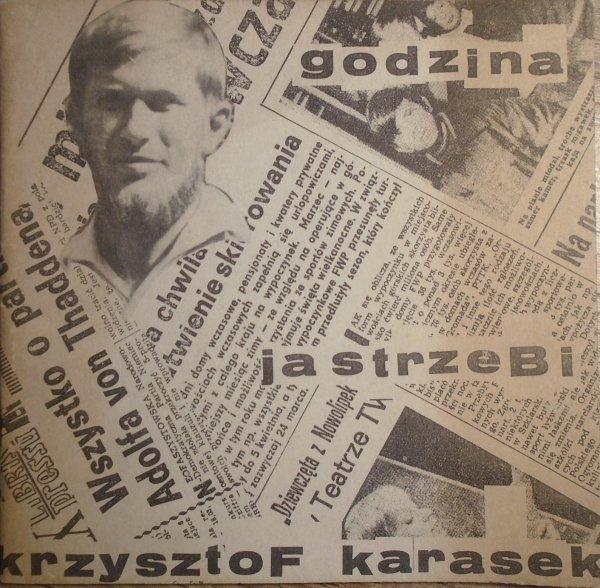 Krzysztof Karasek • Godzina jastrzębi
