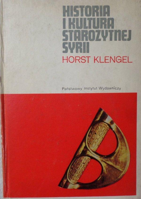 Horst Klengel • Historia i kultura starożytnej Syrii