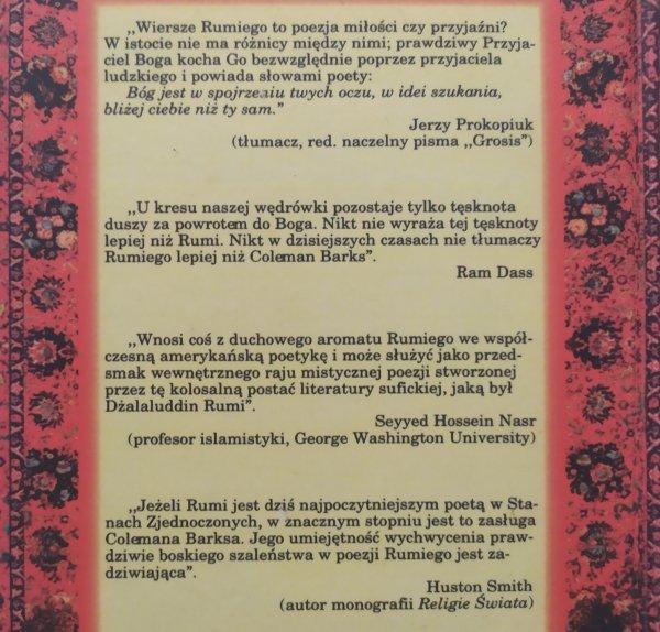 Dżalaluddin Rumi Wybór poezji