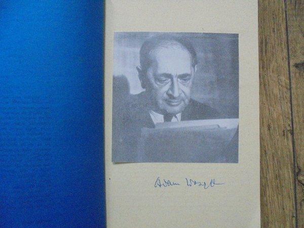 Adam Ważyk • Semafory - pół wieku. Generacje seria V. Wybór wierszy w 50-tą rocznicę 'Semaforów' [autograf autora]