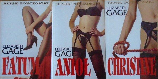 Elizabeth Gage • Błysk pończoszki [komplet]