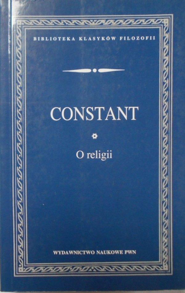 Constant • O religii