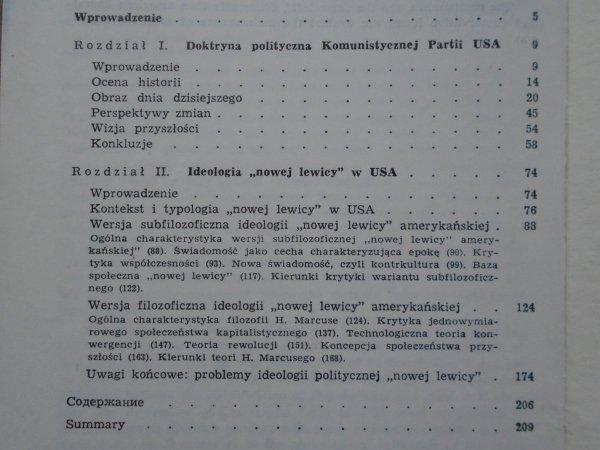Wojciech Sokolewicz, Jerzy Wróblewski • Komunizm i 'Nowa Lewica' - krytyka systemu amerykańskiego