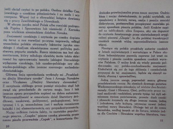 Dr Jan Magiera • Literatura czeska i słowacka