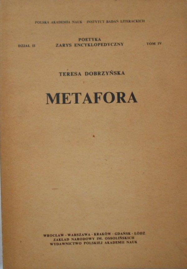 Teresa Dobrzyńska • Metafora
