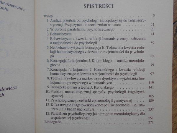 Krystyna Zamiara • Dynamika pojęć i programów psychologicznych. Szkice metodologiczne