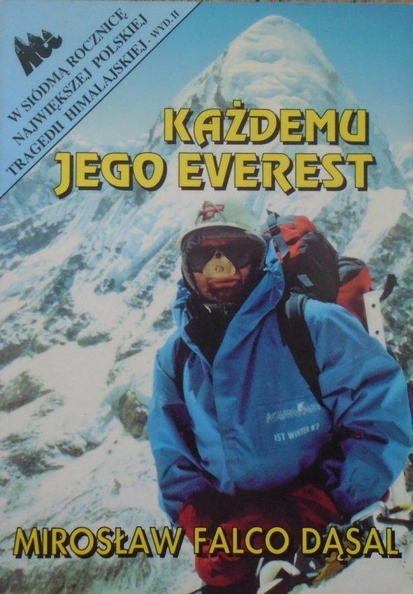 Mirosław Falco Dąsal • Każdemu jego Everest