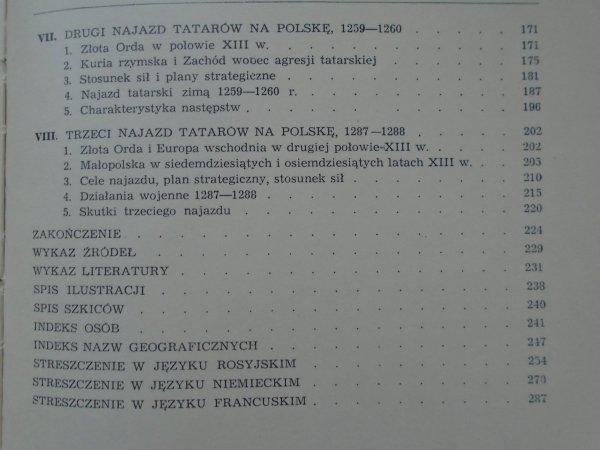 Stefan Krakowski • Polska w walce z najazdami tatarskimi w XIII wieku