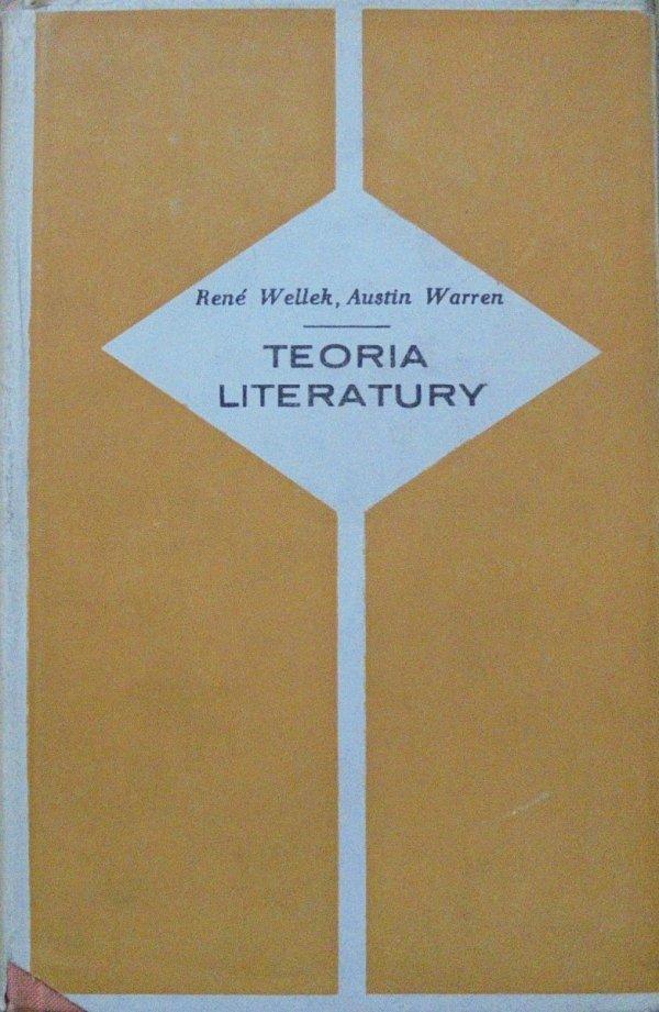 Rene Wellek, Austin Warren • Teoria literatury