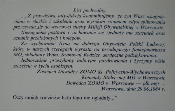 Bogdan Juruś • Byłem w ZOMO