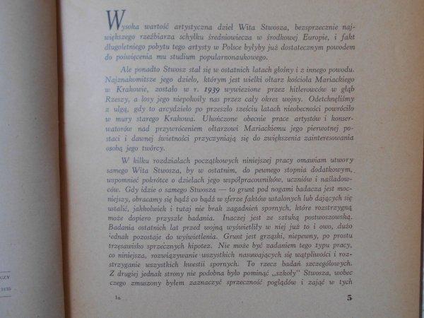 Adam Bochnak • Wit Stwosz w Polsce