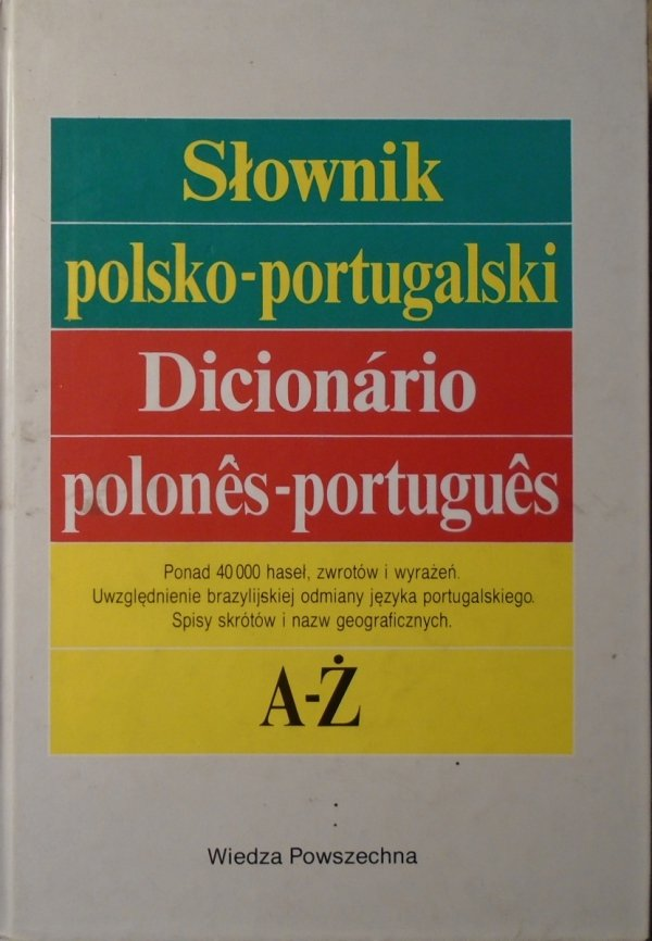 Słownik polsko-portugalski • Dicionario polones-portugues