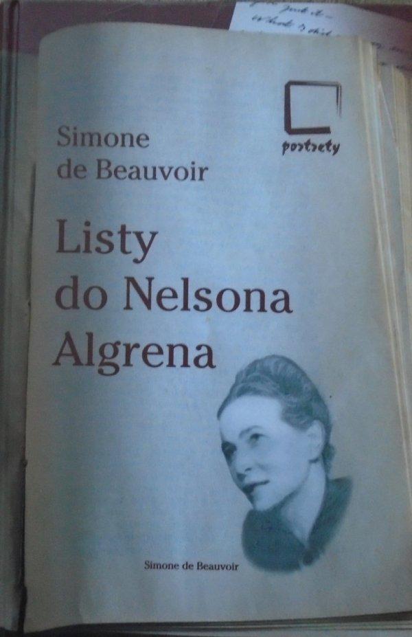 Simone de Beauvoir • Listy do Nelsona Algrena. Romans transatlantycki 1947-1964