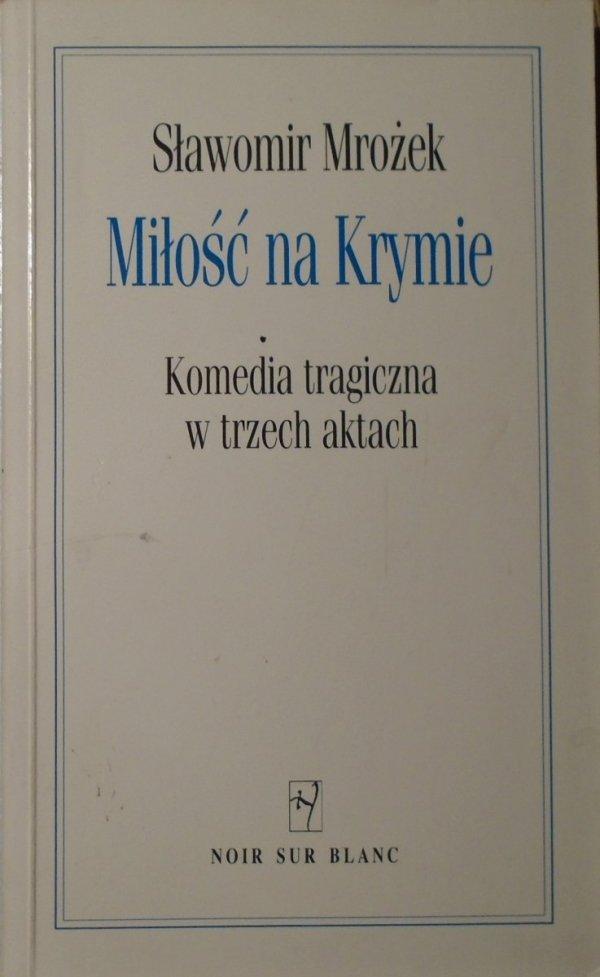 Sławomir Mrożek Miłość na Krymie