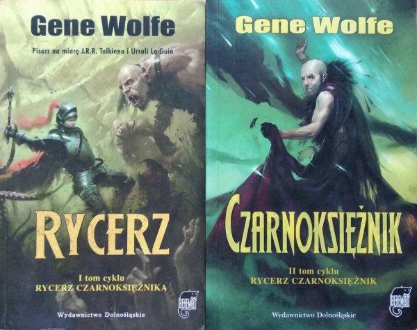 Gene Wolfe • Rycerz Czarnoksiężnik [komplet]