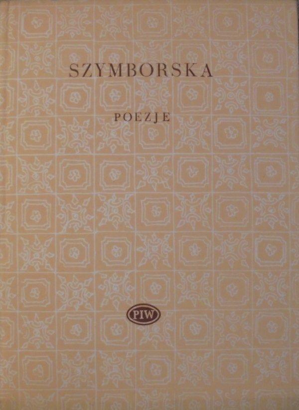 Wisława Szymborska • Poezje [Biblioteka Poetów]