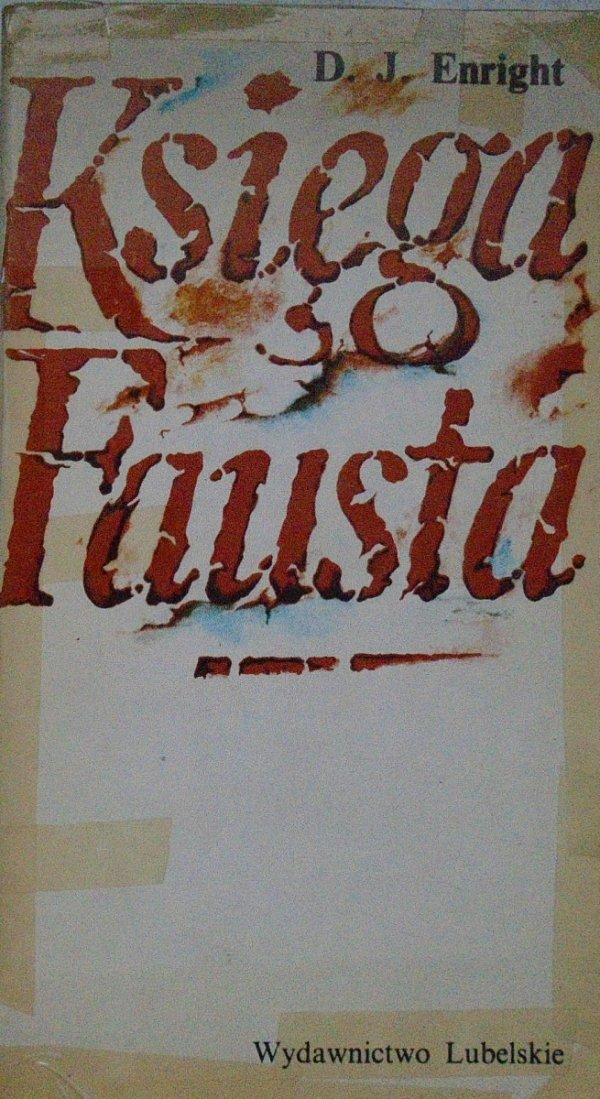 D.J.Enright • Księga Fausta