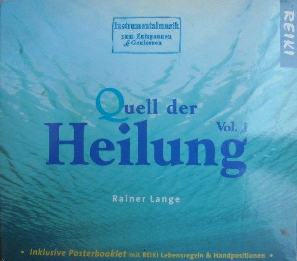 Rainer Lange • Quell der Heilung [muzyka relaksacyjna, Reiki] • CD