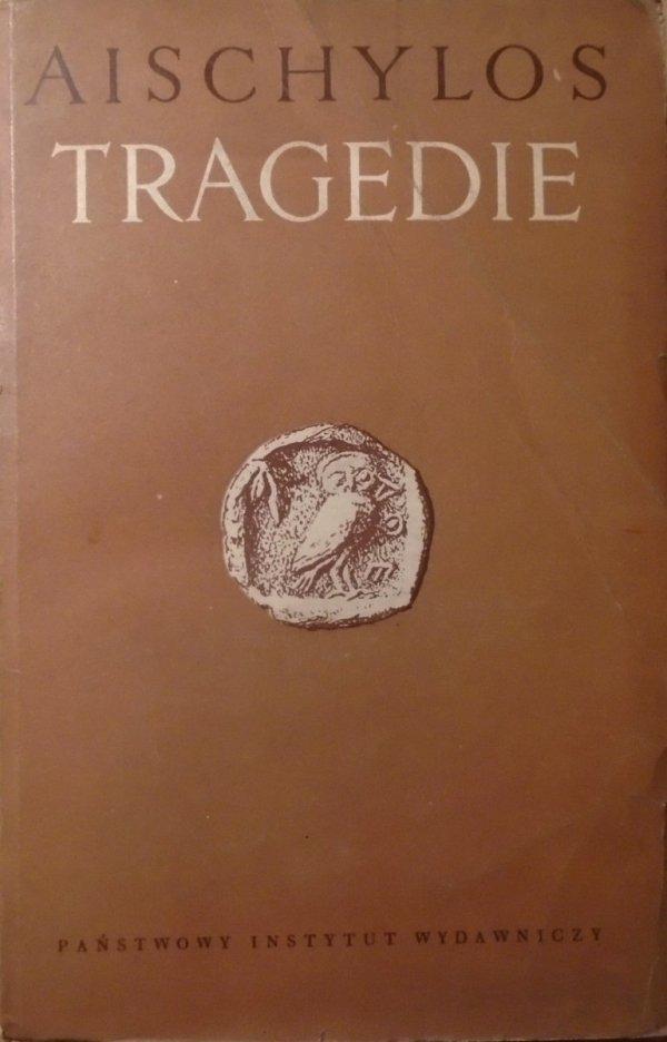Aischylos [Ajschylos] • Tragedie