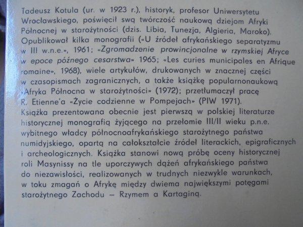 Tadeusz Kotula • Masynissa [Afryka]