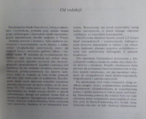 Praca zbiorowa • Encyklopedia sztuki starożytnej