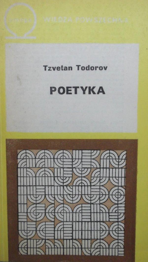 Tzvetan Todorov • Poetyka