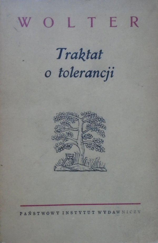 Wolter • Traktat o tolerancji