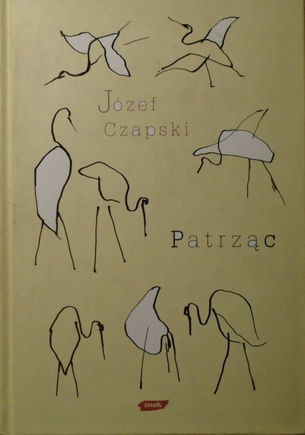 Józef Czapski • Patrząc
