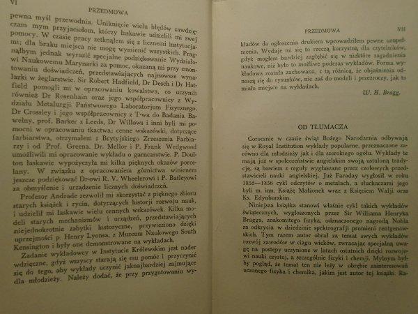 Sir William Bragg • Stare rzemiosła a nowa nauka [1935]