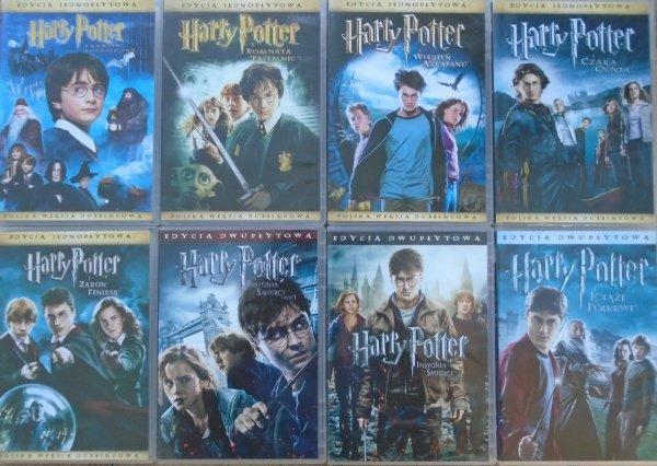 Harry Potter • komplety zestaw • 8xDVD