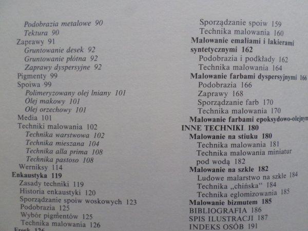 Ludvik Losos • Techniki malarskie