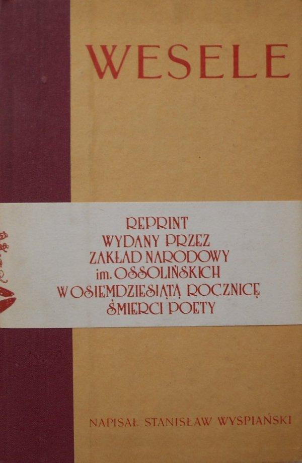 Stanisław Wyspiański • Wesele