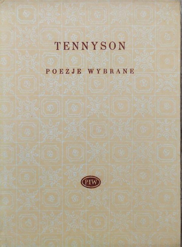 Alfred Tennyson Poezje wybrane [Biblioteka Poetów]