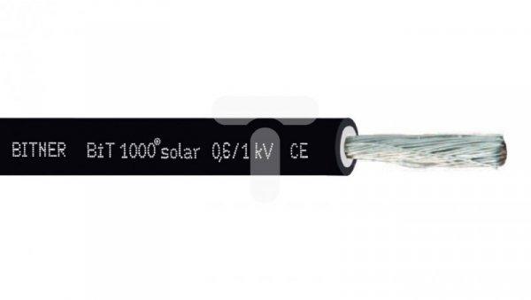 Kabel fotowoltaiczny BiT 1000 solar 1x4 0,6/1kV czarny S66462 /bębnowy/