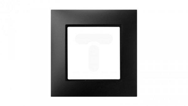 ARIA Ramka pojedyncza czarny metalik R-1U/33
