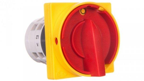 Łącznik krzywkowy /rozłącznik główny/ 0-I 3P 25A na kłódkę IP65 Łuk E25-15RG 952519