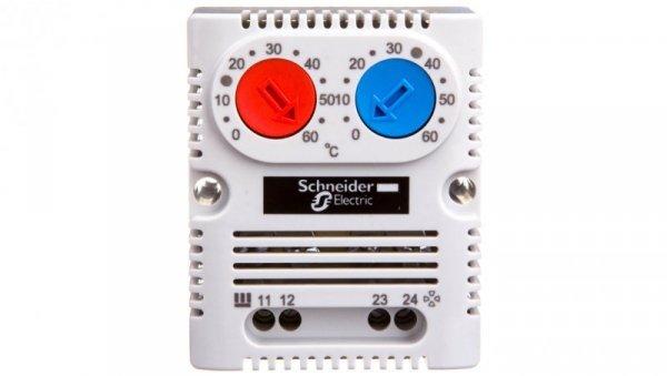 Termostat 10A 1Z 1R 250V 0-60°C NSYCCOTHD