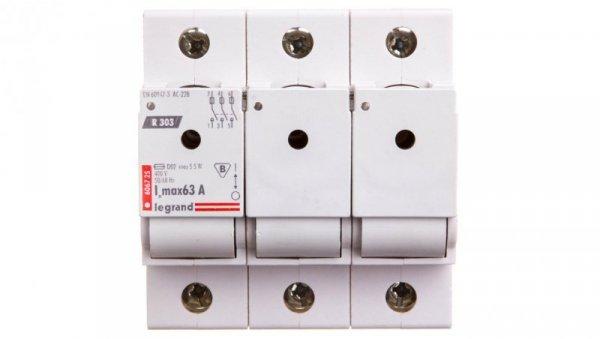 Rozłącznik bezpiecznikowy 3P 63A D02 R303 MAKS /bez wkładek/ 606725