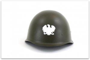 MH118  HEŁM WZ40 LUDOWE WOJSKO POLSKIE 1943