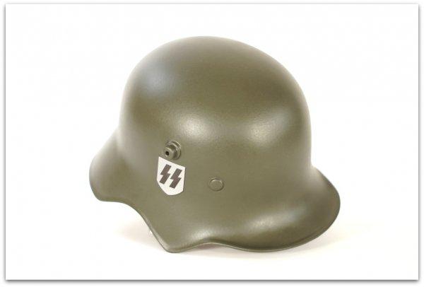 MH050 HEŁM NIEMIECKI M18 WAFFEN-SS - FERNSPRECHER KAVALLERIEHELM