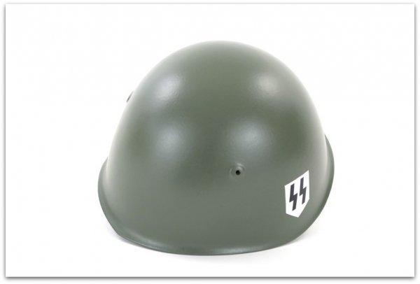 MH140 HEŁM WŁOSKI WZ33 SS-ITALIANA / ELMETTO M33 SS-ITALIANA