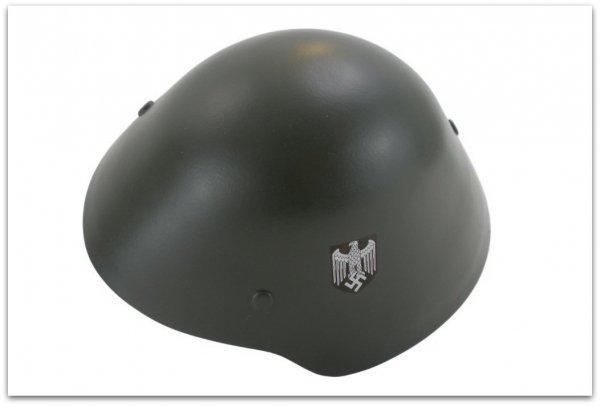 MH114 HEŁM PROTOTYPOWY NIEMIECKI M44/BII - M45/BII - KONIEC WOJNY