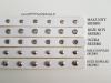 Pasek naramienny regulowany - Skóra, gładki, nitowany lub oczkowany